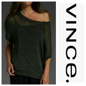 Vince Sheer Dolman Sweater Small